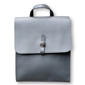 ✴️2/$30 Minimalist casual grey square backpack